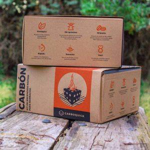 Carboquick - Kit de autoencendido para barbacoa