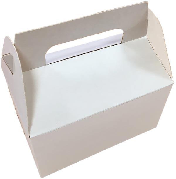 Cajita maletín blanca