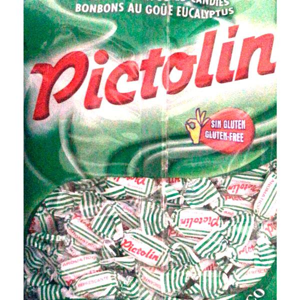Caramelos Pictolín sabor eucalipto