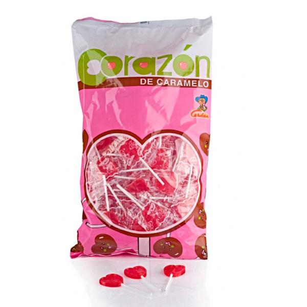 Cerdán - Piruleta Corazón Mini