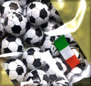 CFV - Balones de fútbol de chocolate