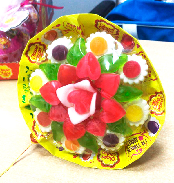 Chupa Chups Ramo Flores Candy