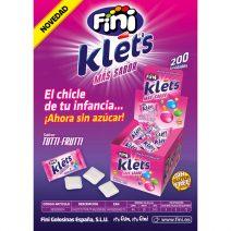 Fini - Chicle Klets Tutti Frutti
