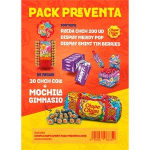 Chupa Chups - Pach Preventa Smint 2018
