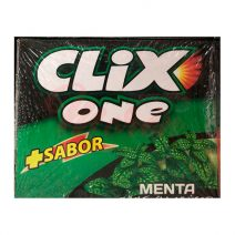 Chicles Clix One Menta Sin Azúcar