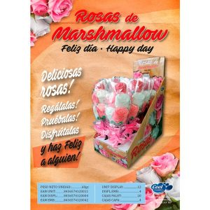 Cool Candies - Ramo de Rosas de Marshmallow