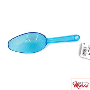Cuchara plástico azul
