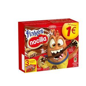 Galletas Cuétara Flakes Nocilla