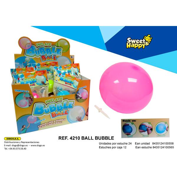 Disgo - Balón Inflable - Bubble Ball