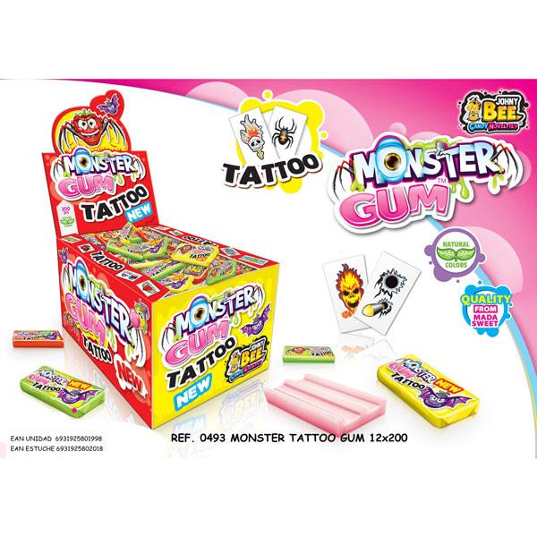 Disgo - Monster Gum tattoo