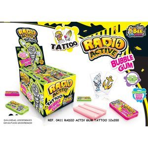 Disgo - Radio Active Tattoo Bubble Gum