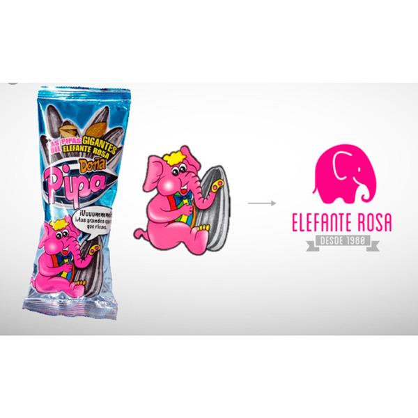 Elefante Rosa - Doña Pipa Familiar