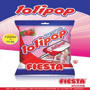 Fiesta - Lolipop 7 unidades