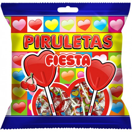 Fiesta - Piruletas 7 unidades