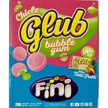 Fini chicle glub sabor tutti frutti