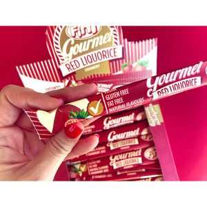 Fini - Regaliz Gourmet Rojo Liquorice