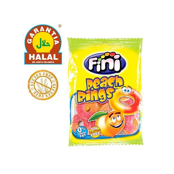 Fini - Anillos de Melocotón Halal
