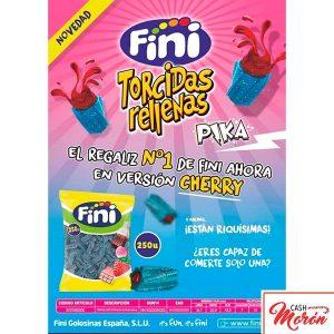 Fini - Torcidas rellenas de frambuesa pika