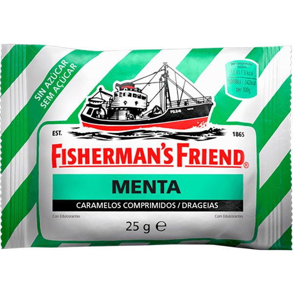 Caramelos Fisherman´s Friend Menta Sin Azúcar