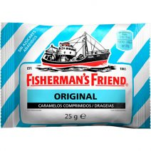 Caramelos Fisherman´s Friend Original Sin Azúcar
