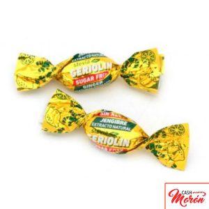 Caramelos de Jengibre sin azúcar