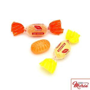 Gerio - Caramelos ácidos con estevia
