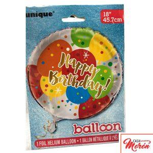 Globo Foil Happy Birthday