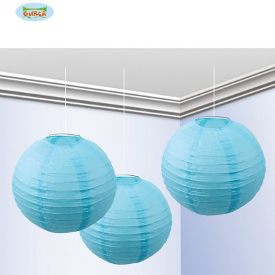 Guirca - Faroles 25cms Azules