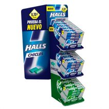 Lote chicle Halls 55+20