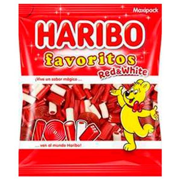 Haribo Favoritos Red & White