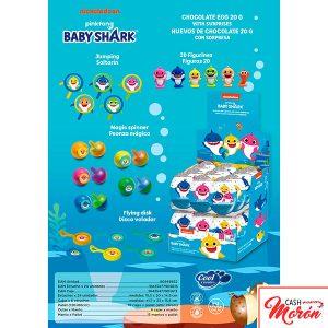 Huevos de Chocolate Baby Shark