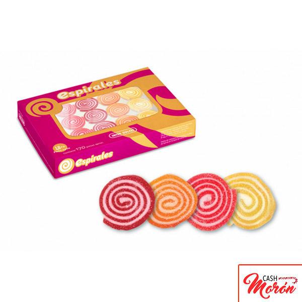 Interdulces - Espirales sabor a fruta