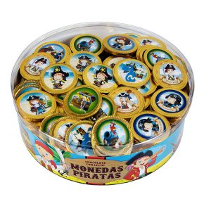 Interdulces - Monedas de Chocolate de Piratas