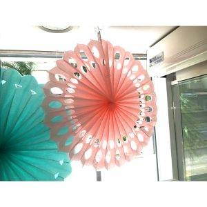 Invercas - Abanico Rosa 50cm