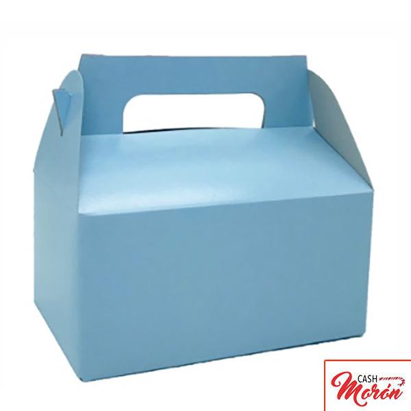 Cajita maletín azul