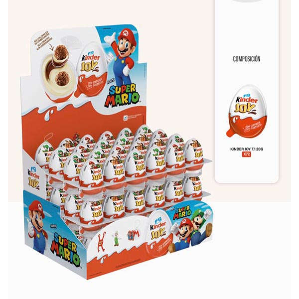 Kinder Joy Mario Bros