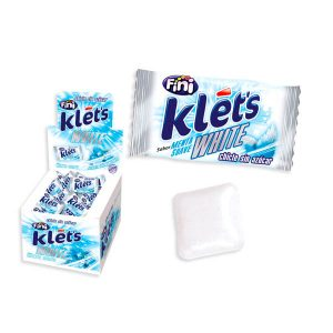 Fini chicle Klet´s white