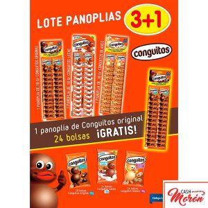 Lote Conguitos 3+1