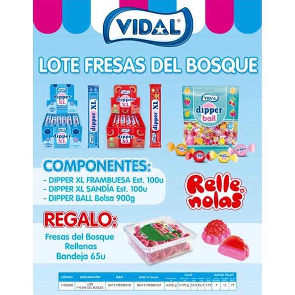 Vidal - Lote Dipper + Frutas del Bosque