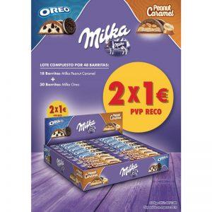 Lote Milka 48 Unidades