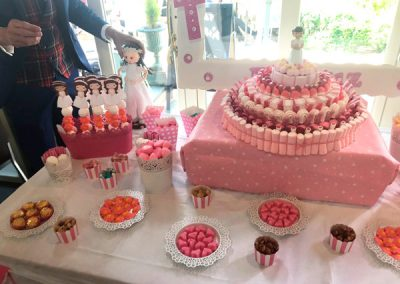 Mesas dulces Rosas