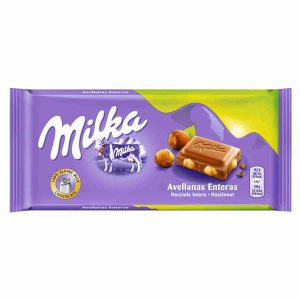 Milka - Chocolate con Avellanas Enteras