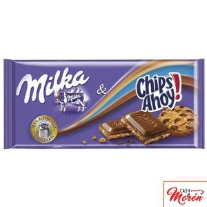 Milka - Chocolate con Chips Ahoy 100gr