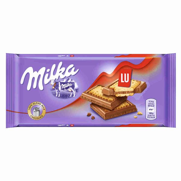 Milka - Chocolate con Lu