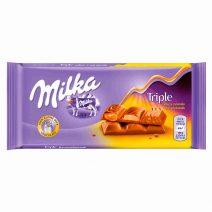 Milka - Chocolate con Triple Caramelo