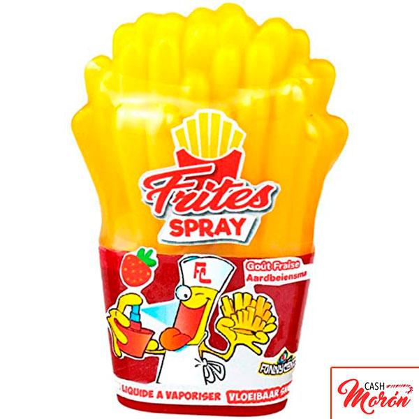 Spray en forma de patatas fritas