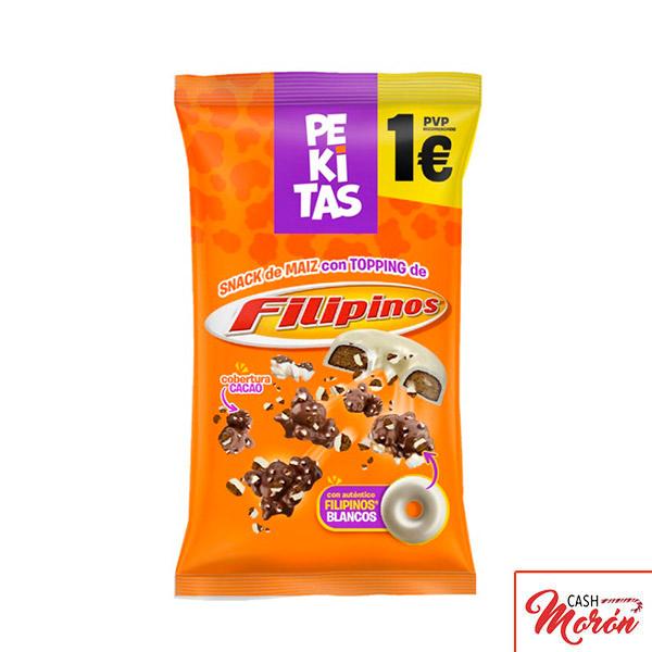 Pekitas con Filipinos de cacao