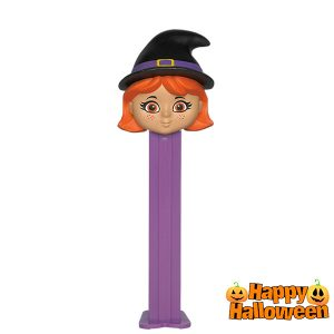 Dispensador PEZ Halloween Bruja
