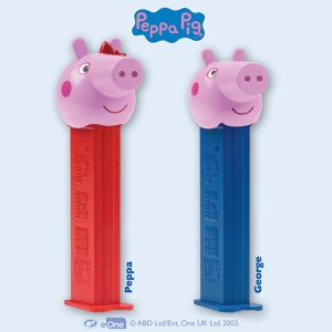 Dispensador PEZ Peppa Pig
