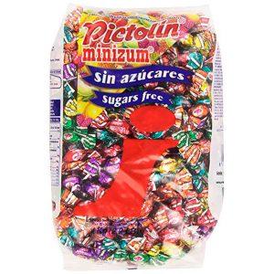 Caramelos Pictolín Minizum sabor frutas